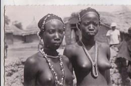 Carte Postale : Jeunes Filles (Soudan )  Seins Nus  Photographe Carnaud   N°13 - Soudan