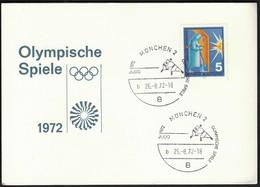 Germany Munich 1972 B / Olympic Games Munich / Judo - Ete 1972: Munich
