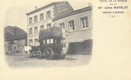 Vresse S/Semois  REPRODUCTION  Hotel De La Semois Avec Malle Poste - Vresse-sur-Semois