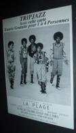 Carte Postale - Tripjazz - Discothèque La Plage (The Jackson Five) - Musique Et Musiciens