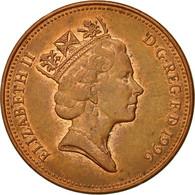 Monnaie, Grande-Bretagne, Elizabeth II, 2 Pence, 1996, TTB, Copper Plated Steel - 1971-… : Monnaies Décimales