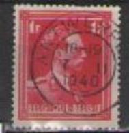 BELGIO 1936  EFFIGE DI LEOPOLDO III UNIF. 428 USATO VF - Belgio