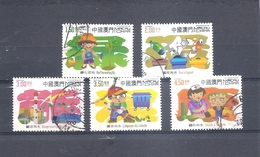 MACAU MACAO 2002 Environment Short Set Scott 1093 // 1099 Fine Used - 1999-... Chinese Admnistrative Region