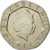 Monnaie, Grande-Bretagne, Elizabeth II, 20 Pence, 2002, SUP, Copper-nickel - 1971-… : Monnaies Décimales