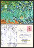 IRISES - Vincent Van Gogh Stamp  #26722 - Paintings