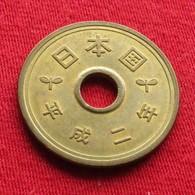 Japan 5 Yen 1990 / Yr. 2 Y# 96.2   Japão Japon - Japan