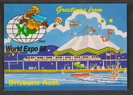 Greetings From Brisbane World Expo 1988 - Unused - Brisbane