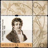 "Moldova 2018 ""250th Anniversary Of Jean Baptiste Joseph Fourier (1768 - 1830)"" 1v Quality:100% - Moldawien (Moldau)"