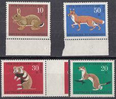 REPUBBLICA FEDERALE TEDESCA - 1967 - Serie Completa Nuova MNH, Yvert 387/390; 4 Valori, Come Da Immagine. - Neufs