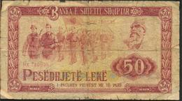 °°° ALBANIA 50 LEKE 1976 °°° - Albania