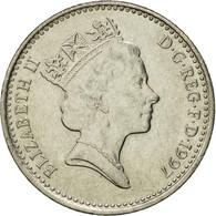 Monnaie, Grande-Bretagne, Elizabeth II, 10 Pence, 1997, TTB+, Copper-nickel - 1971-… : Monnaies Décimales