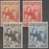 SURINAME - 1943 Royal Family. Scott 176-179. MNH - Surinam ... - 1975
