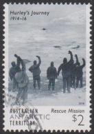AUSTRALIAN ANTARCTIC TERRITORY-USED 2016 $2.00 Hurley's Journey - Rescue Mission - Australian Antarctic Territory (AAT)