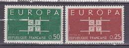 N° 1396 Et 1397 Europa 1963: Timbres Neufs Impeccable - Unused Stamps