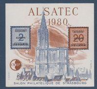 CNEP-1980-N°1** ALSATEC.Salon Philathélique De STASBOURG - CNEP