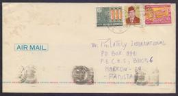 Traffic Lights, Postal History Cover From INDONESIA, Used 1982 - Indonésie