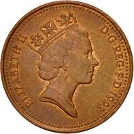 Monnaie, Grande-Bretagne, Elizabeth II, Penny, 1993, TTB, Copper Plated Steel - 1971-… : Monnaies Décimales