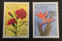 Algeria   - MH* -  1974 - # 518/519 - Algérie (1962-...)