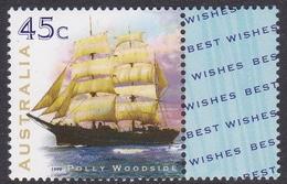 Australia ASC 1722a 1999 Sailing Ships, Polly Woodside, Mint Never Hinged - 1990-99 Elizabeth II