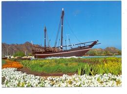 "OMAN - Sindbad's Dhow Replica ""The Sohar"", Segelschiff / Sailing Ship - Oman"