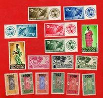 Lot De 16 Timbres TOGO Neufs - Stamps