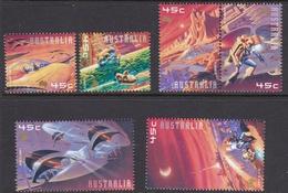 Australia ASC 1880-1884 2000 Space, Mint Never Hinged - 2000-09 Elizabeth II