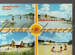 8-681 CZECHOSLOVAKIA 1979 Zemplinska Sirava  Michalovce District Dam Lake Camping Recreation Area Kamenec Summer Camp - Scoutisme