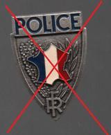 BADGE POLICE FIA LYON - Police & Gendarmerie