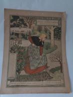 Calendriers  :Belle Jardinière 1896 ,chromotypo De G De Malherbe, 11 Feuillets Perforés - Calendars