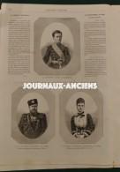 1883 COURONNEMENT DU TZAR - FETES DE MOSCOU - HOLLANDE EXPOSITION D'AMSTERDAM - EXPOSITION CANINE - Journaux - Quotidiens