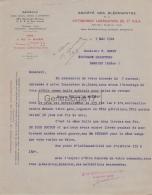 75 13 247 PARIS SEINE 1924 Sté DES OLEONAPHTES De PITTBURGH LUBRICATING OIL Cie U.S.A Rue Bruyere Mrs BARON Marc  Eugene - France