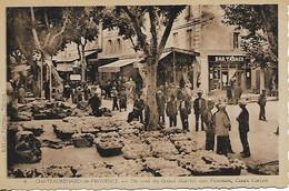 CPA Début Années 1900 : Chateaurenard De Provence (13) - Marché Cours Carnot - Chateaurenard