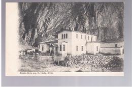 Georgia Route Militaire Station Kobi 1904 OLD POSTCARD 2 Scans - Georgia