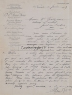 58 383 NEVERS NIEVRE 1909 Locomobile Batteuse L. A. PECARD FRERES Ingenieur LOCOMOTIVE FONDERIE LOCOMOBILES - France
