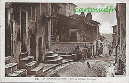 06 CAGNES SUR MER RUE GENERAL BERANGER TBE - Cagnes-sur-Mer
