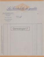 64 362 ORTHEZ PYRENEES 19.. LA SANDALETTE DE QUALITE Marque GO Des Ets CH. GIRARD - Vestiario & Tessile