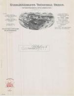 67 999 SCHILTIGHEIM BAS RHIN 19.. VIERGE - Machine Brasserie THEOPHILE DEBUS De STRASBOURG En Gare De BISCHEIM - France