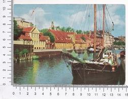 København ~ Frederiksholms Kanal ~ Canal ~ Barche ~ Barca ~ Canale ~ Copenaghen ~ 1962 ~ Grønlunds Forlag ~ ægte Foto - Danimarca