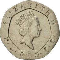 Monnaie, Grande-Bretagne, Elizabeth II, 20 Pence, 1995, TTB+, Copper-nickel - 1971-… : Monnaies Décimales