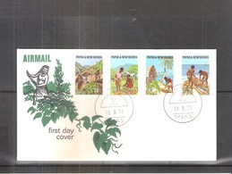 FDC Papua & New Guinea - 1971 - Complete Set (to See) - Papouasie-Nouvelle-Guinée