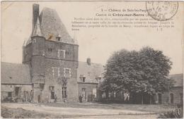 CARTE POSTALE   Château De BOIS LES PARGNY 02 - France