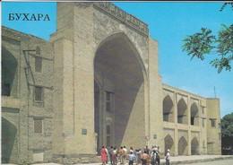 OUZBEKISTAN---BUKHARA--kukeltash Madrasa 16th Century--voir  2 Scans - Uzbekistan