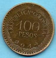 R40/  COLOMBIE  100 Pesos  2014 - Colombie