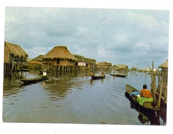 BENIN - GANVIE, Pfahldorf - Benin