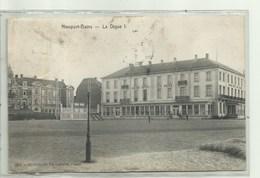 Nieuport- Bains  - La Dique - Verzonden 1910 - Nieuwpoort