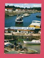 CPSM (Réf : (C703) ANDERNOS-LES-BAINS (33 GIRONDE) 20 Retour Au Port Triage Des Huitres (animée) DOUBLE VUES - Andernos-les-Bains