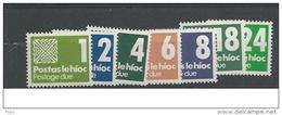 1980 MNH Ireland, Eire, Irland, Ierland, Porto, Postfris - Portomarken