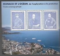 """Monaco 2018 - Yv N° F3151 ** - Bloc """" Monaco Et L'Océan"""" (timbres 3151 à 3153) - Unused Stamps"""