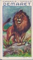 CARNASSIER - LE LION N° 1- CARAMELS ET TOFFEES DEMARET (LOT DE 30 IMAGES) - Confectionery & Biscuits