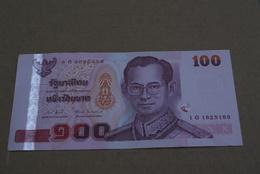 BILLETE DE TAILANDIA DE 100 BATH SERIE 1G EN CALIDAD EBC (XF) (BANKNOTE) - Tailandia